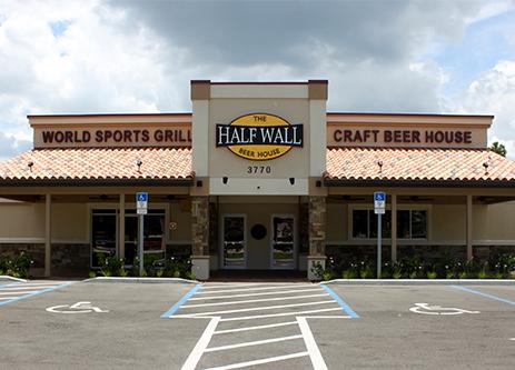 The Half Wall Beer House - Port Orange, FL