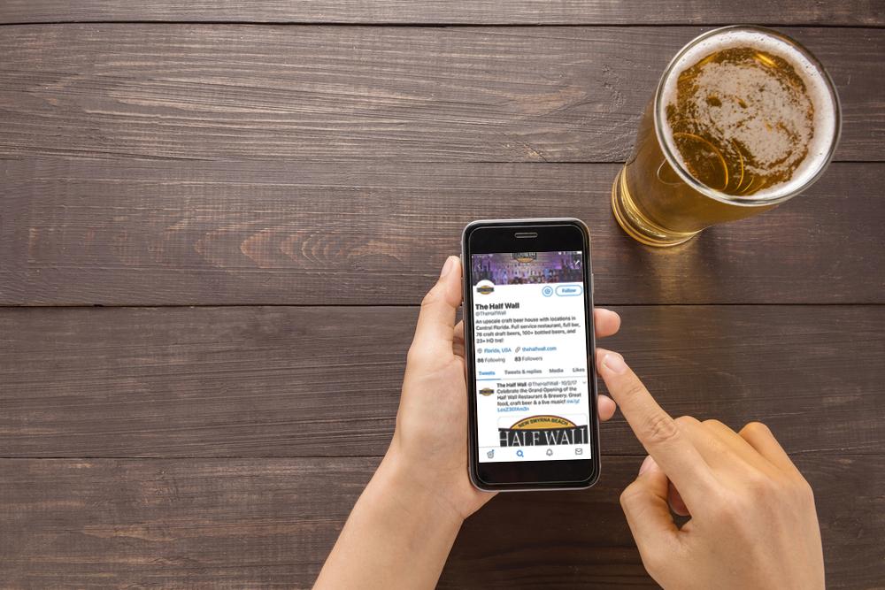 Beer in the Twittersphere